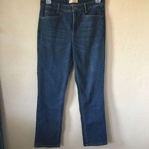 J Jill Smooth Fit Straight Leg Jeans Sz 10